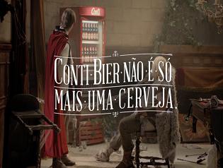 "CERVEJA CONTI- ""Conti de Fadas"""