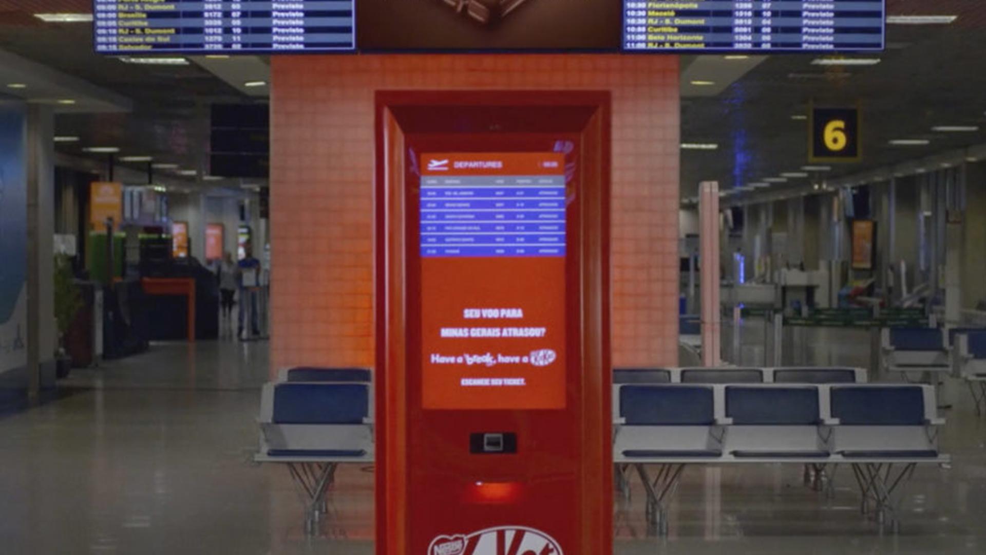 """KIT KAT – """"Aeroporto"""""""